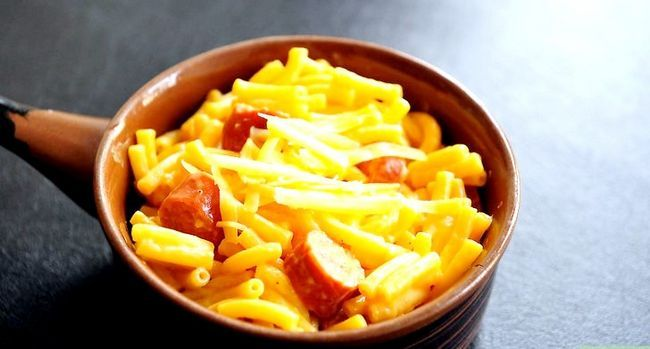 Bildtitel Cook Packaged Macaroni and Cheese Intro